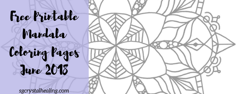 Free Printable Mandala Coloring Pages Jun 2018