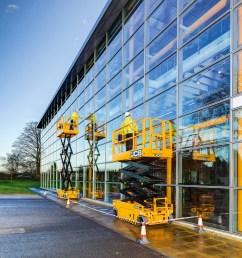 jcb introduced its first nine products to signal its entrance into the aerial lift market  [ 2594 x 2039 Pixel ]