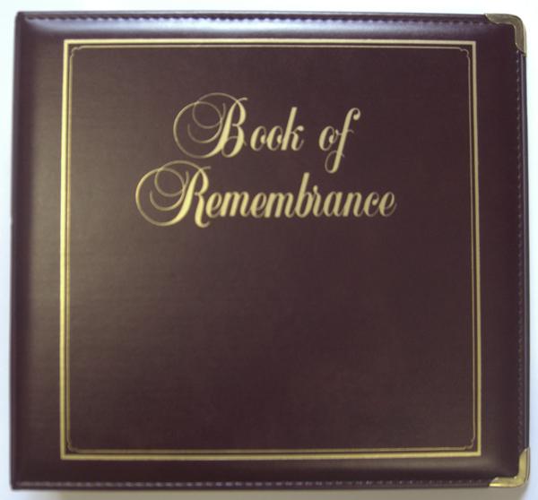 Executive Book of Remembrance Binder  Stevenson Genealogy  Copy Center LLC