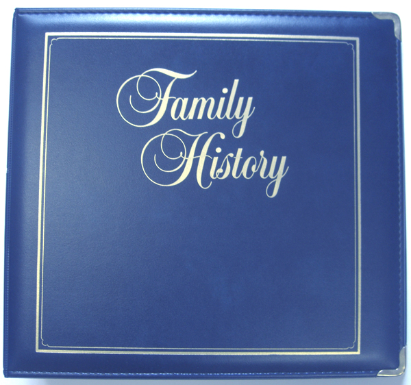 Executive Family History Binder  Stevenson Genealogy  Copy Center LLC