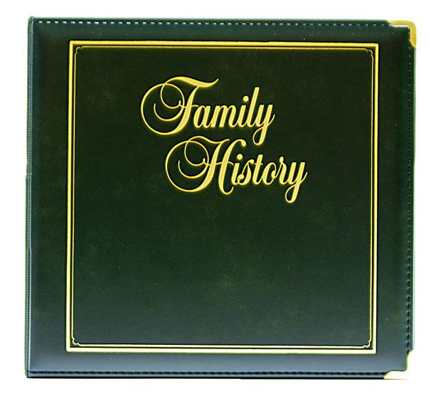 Executive Family History Binder  Stevenson Genealogy
