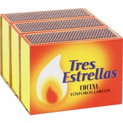Kitchen Matches Small Sink Cabinet Long 3 Pack Box 100 Units Tres Estrellas