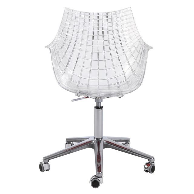 Silla de escritorio con ruedas y giratoria Kubica  Hogar