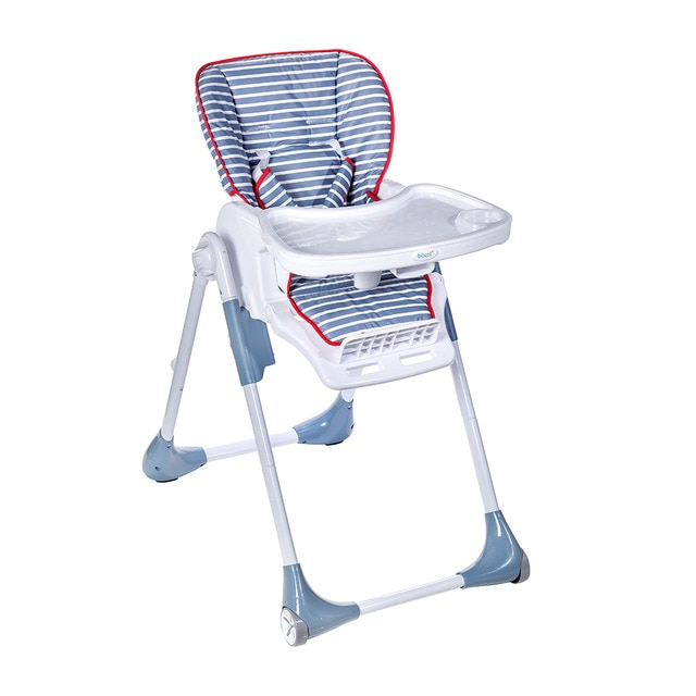 bbest blue stripes collapsible high chair  Babies  El