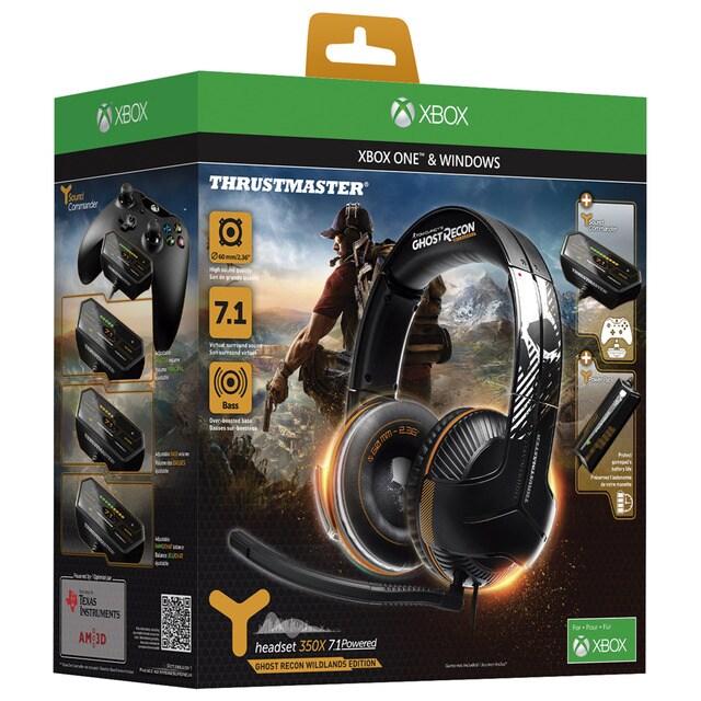 Auriculares Thrustmaster Y350X 71 para Xbox OnePC  Videojuegos  El Corte Ingls