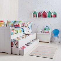 Dormitorio infantil Twins Cama compacta Mini Home  El