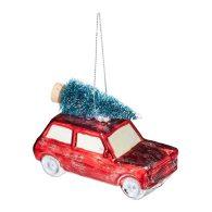 Car & Pinetree decoration - El Corte Inglés
