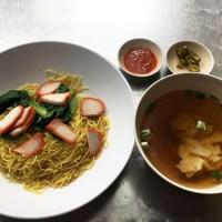 生きるパワーをもらえるレジェンド女将のワンタンミー! @Nam Seng Noodle House