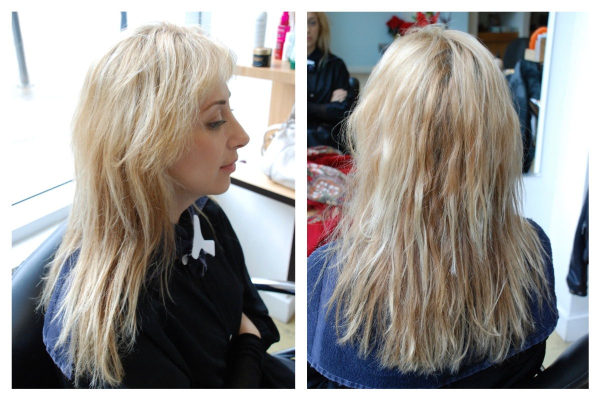 Blonde To Brown Color Correction Hair Color Rehab