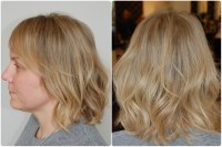 Stripy Blonde Transformation Into Playful Natural Golden ...
