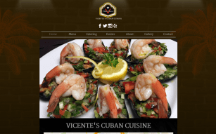 restuarant website design
