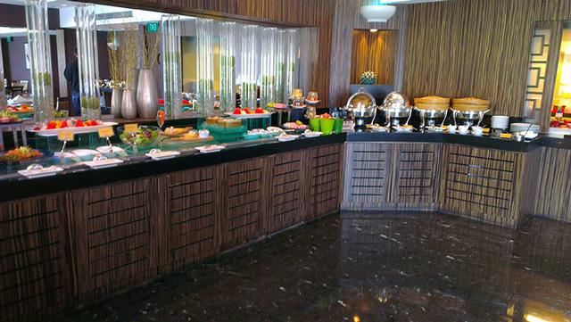 Marina Mandarin Singapore The Meritus Club Lounge Hotel