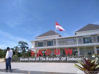 Presiden Jokowi Resmikan Pos Perbatasan Indonesia-PNG