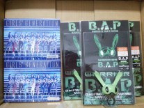 B.A.P Warrior & SNSD Galaxy Supernova (Japan version) that arrived today! #02