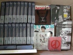 INFINITE Destiny in America DVD, albums & magazines that arrived! #01