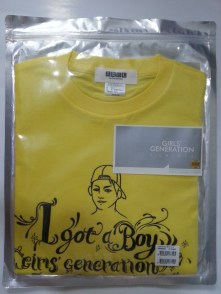SNSD IGAB T-Shirt (Yellow)(S Size)