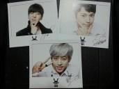BAP LOE'14 Individual Polaroid - Yongguk, Himchan, Daehyun