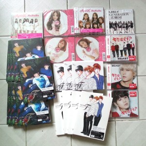 Jap Albums that arrived this week! - INFINITE F Koi no Sign, APink Nonono, BEAST How About You etc