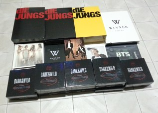 KARA Day&Night, More EXO Die Jungs Photobooks, BTS Dark&Wild, TVXQ Catch Me In Seoul DVD & More that arrived this week!
