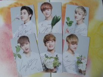 Nature Republic EXO M Photocard version 2