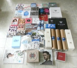 Some of the INFINITE That Summer 2 Concert Goods, albums & items that arrived this week!