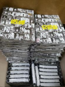 EXO Repackage Albums that arrived