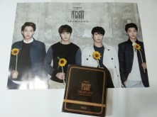 CNBLUE JAPAN BEST ALBUM – PRESENT & Poster
