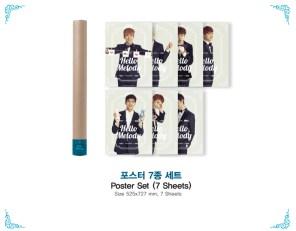 2014 BTOB First Concert Hello Melody - Poster Set