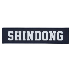 SJ SS6 in Japan Goods - Iron-On Badge (Shindong)