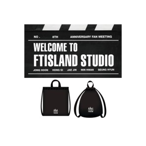 FTISLAND 8th Anniversary Fan Meeting - WELCOME TO FTISLAND STUDIO Official Goods - 2WAY Bag