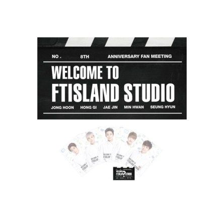 FTISLAND 8th Anniversary Fan Meeting - WELCOME TO FTISLAND STUDIO Official Goods - Postcard Set