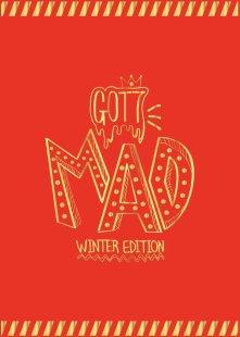 GOT7 MINI ALBUM REPACKAGE - MAD (WINTER EDITION)(HAPPY VERSION)