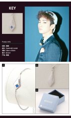 SHINee Official Bracelet & Necklace (Key)