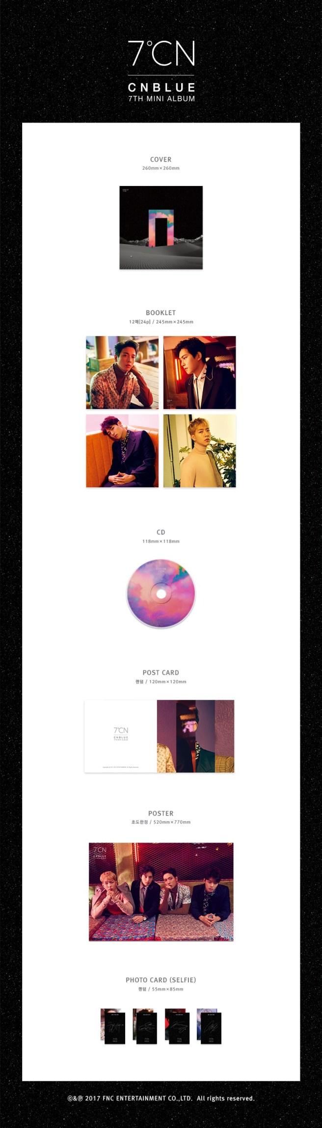 CNBLUE Mini Album Vol.7 – 7ºCN (Special Version) Preview