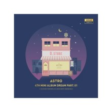 ASTRO 4TH MINI ALBUM - DREAM PART.01 (VER. NIGHT)
