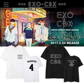 EXO CBX Girls T-Shirt