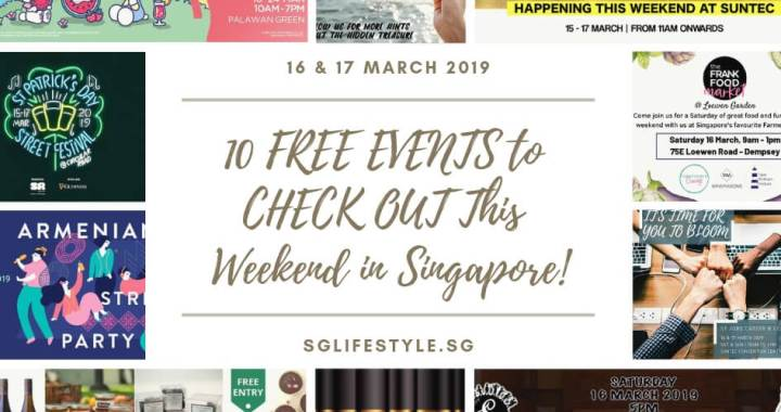 10 FREE EVENTS to CHECK OUT This Weekend in Singapore (16 & 17 March 2019) – View 800 GUDETAMA INFLATABLES + FREE SANDWICHES + A VEGAN FARMER'S MARKET + LISTEN TO STUDIO GHIBLI SOUNDTRACKS & MORE!