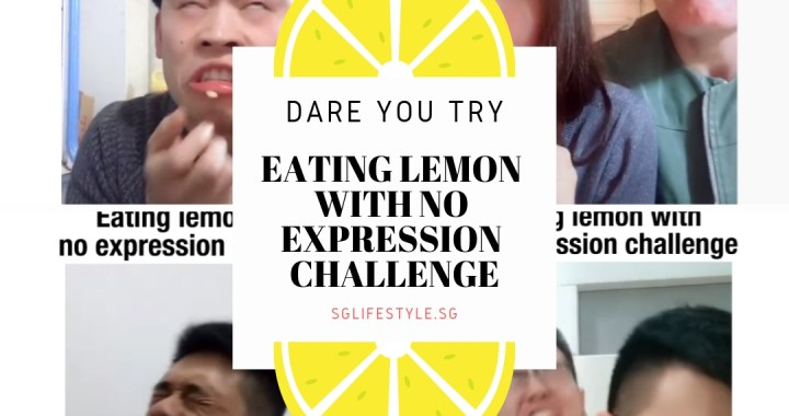 DARE YOU TRY: EATING LEMON WITH NO EXPRESSION CHALLENGE 🍋