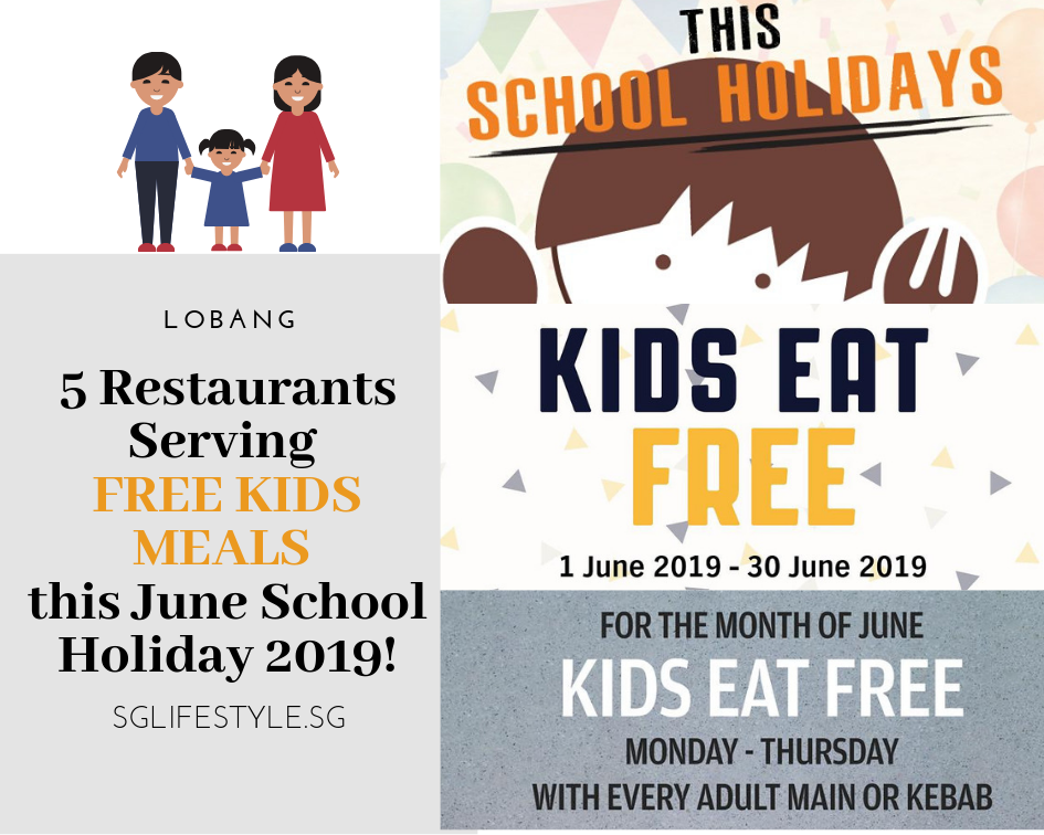 kids eat free june school holidays