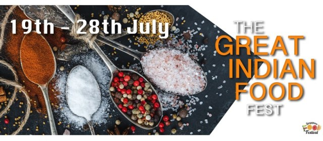 The Great Indian Food Festival 2019