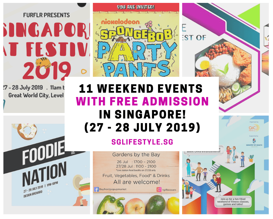 weekend events free admission