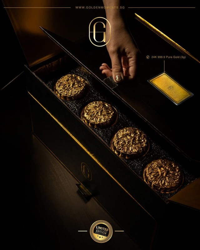 Golden Moments Most Expensive Mooncake