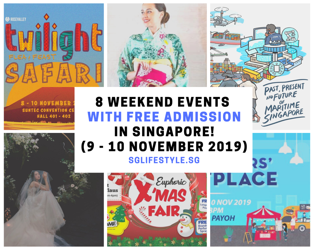 weekend what to do singapore november 2019