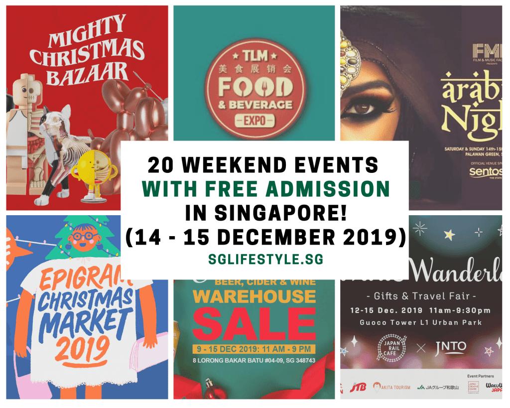 weekend events singapore dec 2019