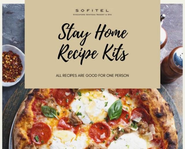 sofitel stay home recipe kit