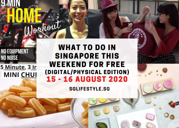 what to do in singapore weekend august 2020