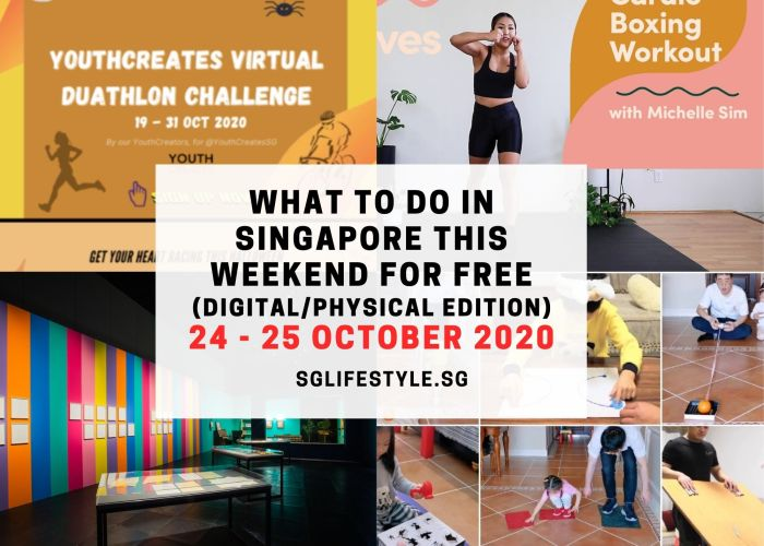 What to Do in Singapore this Weekend For FREE on 24 – 25 October 2020