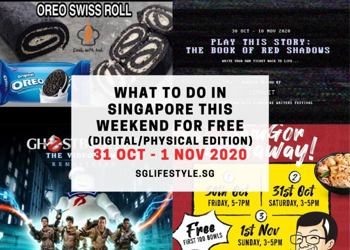 what to do singapore weekend free