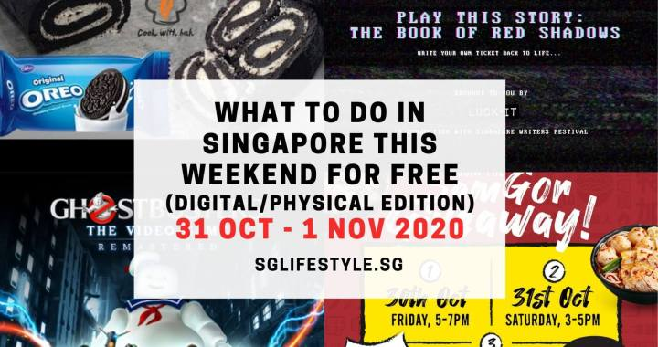 What to Do in Singapore this Weekend For FREE on 31 October – 1 November 2020!