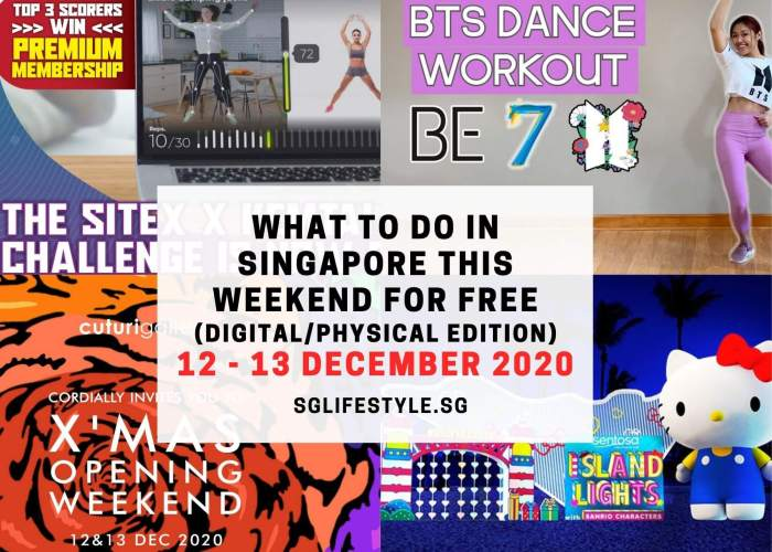 what to do singapore weekend free december 2020